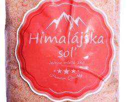 Himalajska sol jemne mletá a ružová