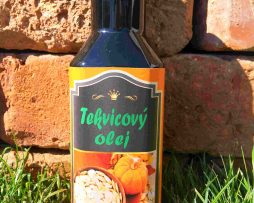 tekvicovy olej bio pre domáce použitie