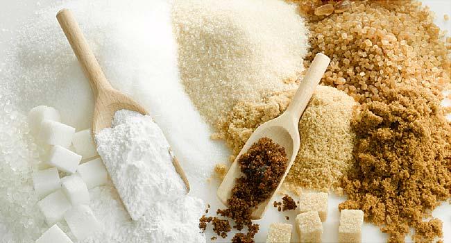 biely a hnedý cukor od najtelo