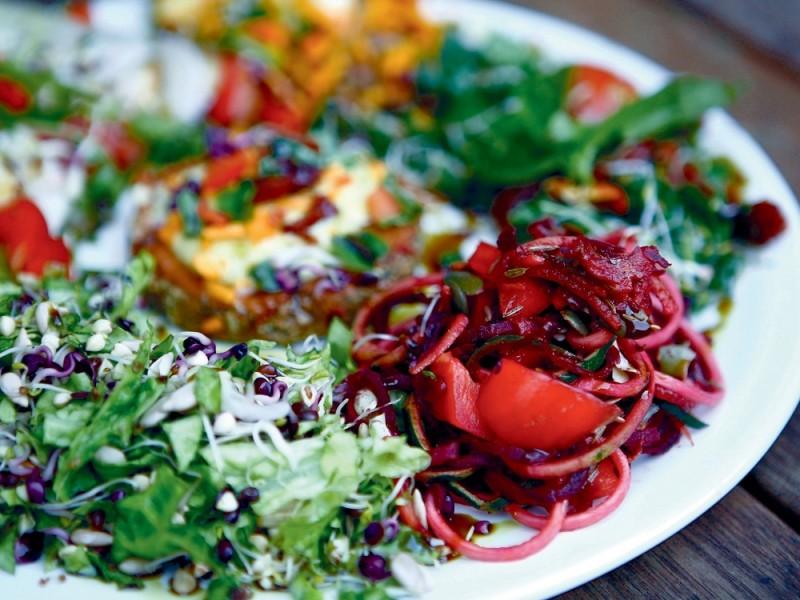 vegetarianska strava