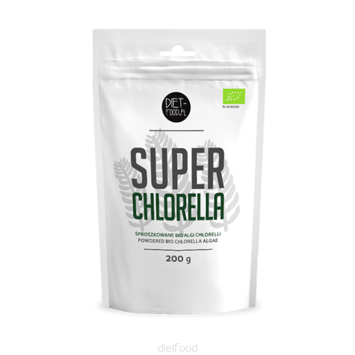 BIO Chlorella riasa SUPERFOOD 200g