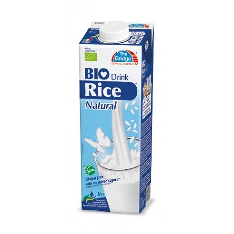 Ryžový nápoj natural BIO, 1l The Bridge