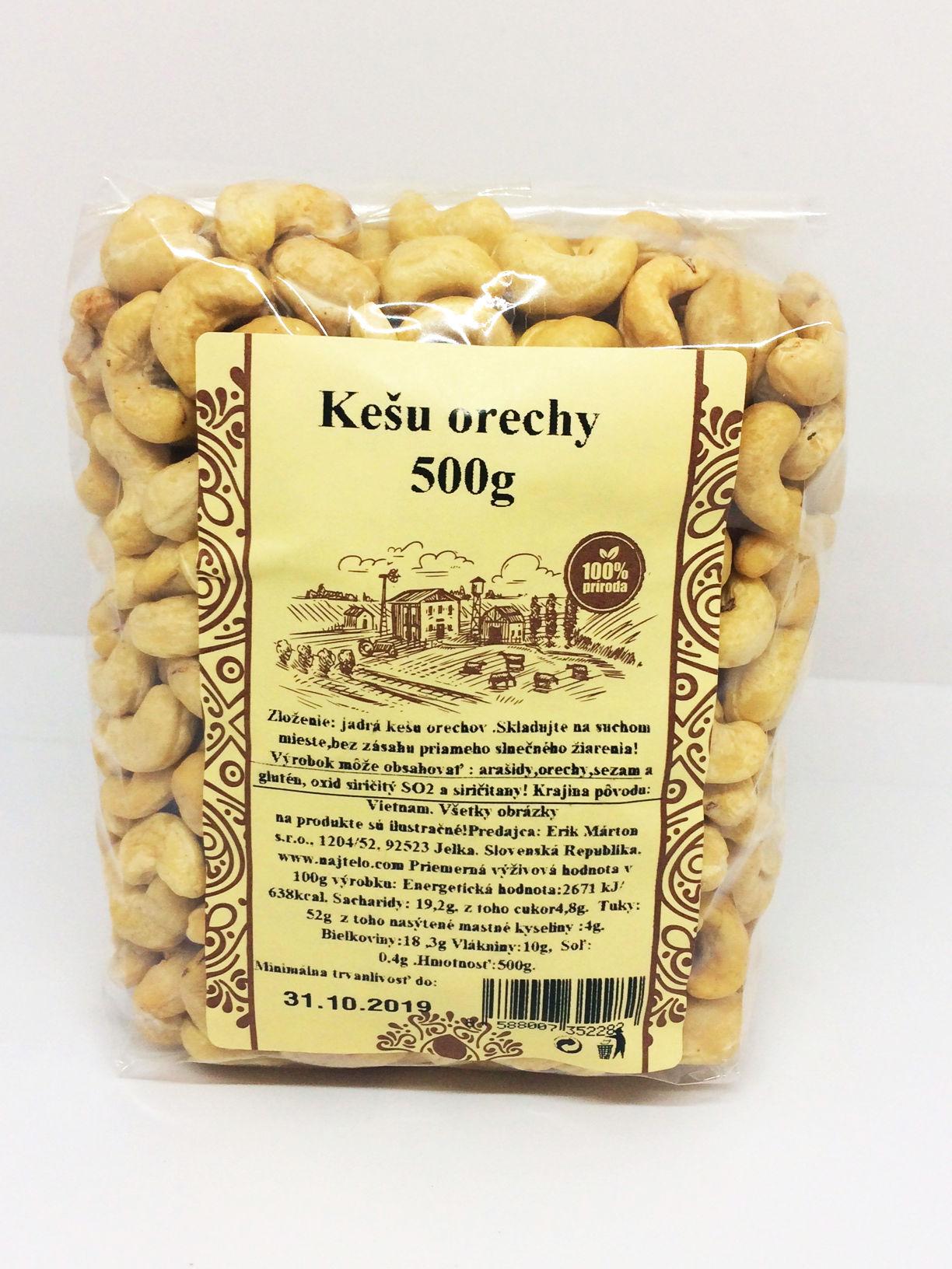 Kešu orechy 500 g